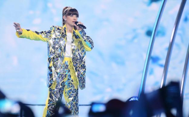 La ganadora de Eurovisión Junior, Viki gabor, de Polonia.