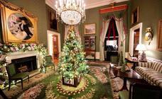 Melania redecora la Casa Blanca por Navidad