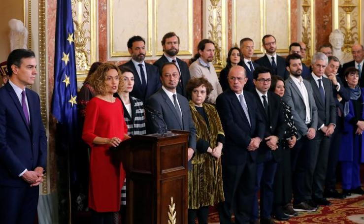 Día de la Constitución española 2019, en imágenes