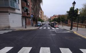 El Ayuntamiento de Valencia invierte 166.500 euros para obras en cuatro calles
