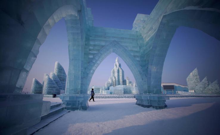 La increíble ciudad de hielo