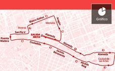 Recorrido de la 10K Valencia y calles cortadas: así afecta al tráfico