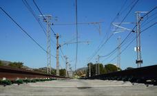 Obras del tren Valencia-Barcelona en la variante de Vandellós