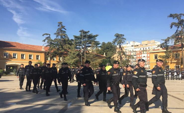 La nueva unidad de convivencia de la Policía Local de Valencia