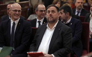 La Generalitat permite a los presos del 'procés' acudir a una comisión en el Parlament