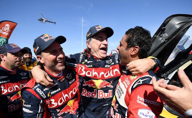 Carlos Sainz se hace con su tercer Dakar