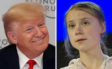 Davos asiste al cruce de reproches entre Trump y Greta Thunberg por el clima
