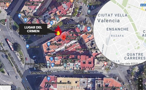 Petición de 34 años por asfixiar y carbonizar a su novia en Valencia