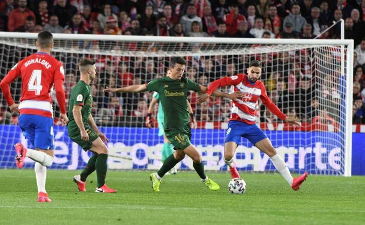 Las mejores imágenes del Granada-Athletic