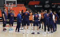 Valencia Basket reparte un 'kit' de preparación física a sus jugadores para combatir el confinamiento del estado de alarma