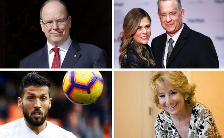 Famosos, deportistas y políticos que han dado positivo por coronavirus