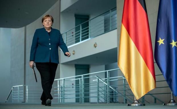 Angela Merkel, en cuarentena tras estar en contacto con un médico infectado