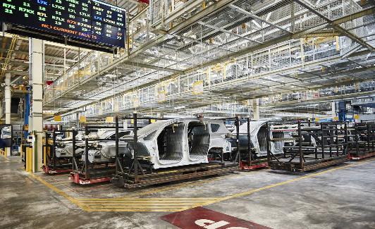 Instalaciones de Ford en Almussafes./LP