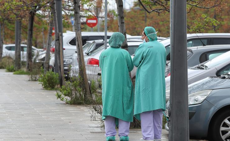 La lucha de los médicos valencianos contra el virus