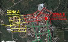 Barxeta divide el municipio en tres áreas para repartir las salidas de los vecinos en diferentes días