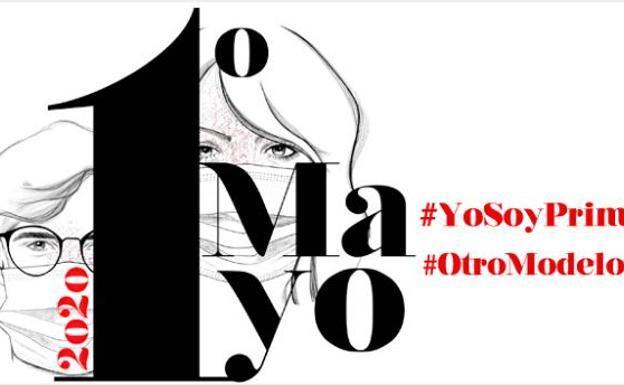 Cómo seguir la manifestación virtual del 1 de mayo y actos del 1-M, el Día del Trabajo más atípico: #YoSoyPrimerodeMayo