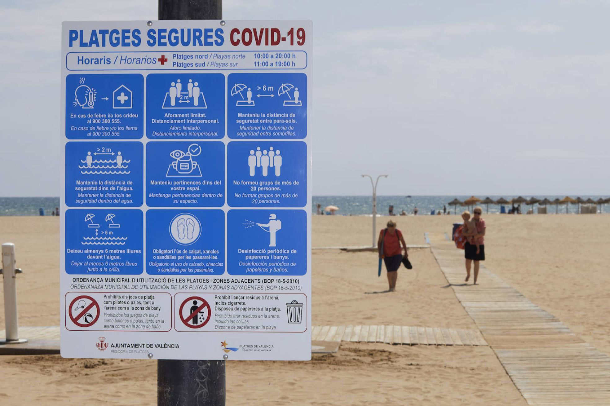 Playas Las Normas Para Ir A La Playa En La Nueva Normalidad Las Provincias