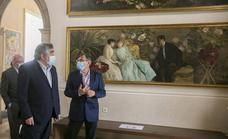 El ministro de cultura José Manuel Rodríguez Uribes visita el Museo de Cerámica de Valencia
