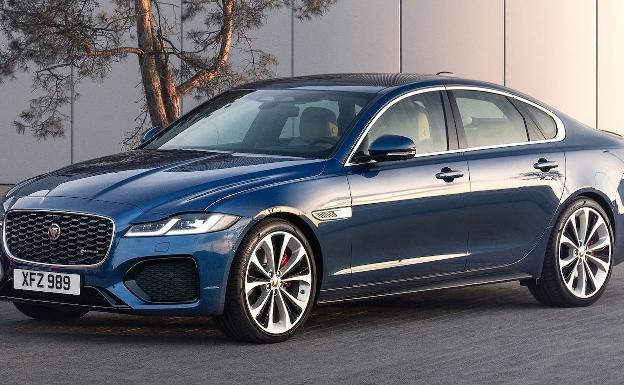 Jaguar XF, se viste a la última y es más eficiente   Las Provincias