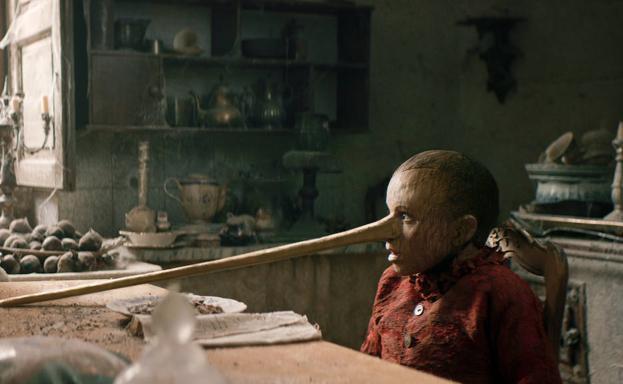 Una imagen de 'Pinocho' de Matteo Garrone.