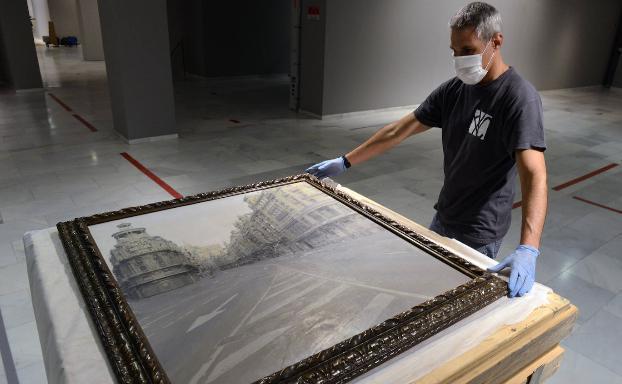 La obra del pintor Antonio López llega a Valencia