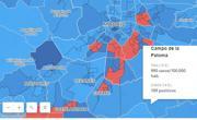 Gráfico: Las zonas confinadas de Madrid