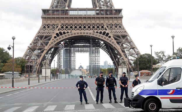 Evacuada la Torre Eiffel por una amenaza de bomba | Las Provincias
