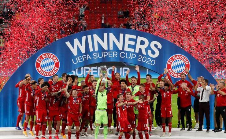Bayern-Sevilla, en imágenes