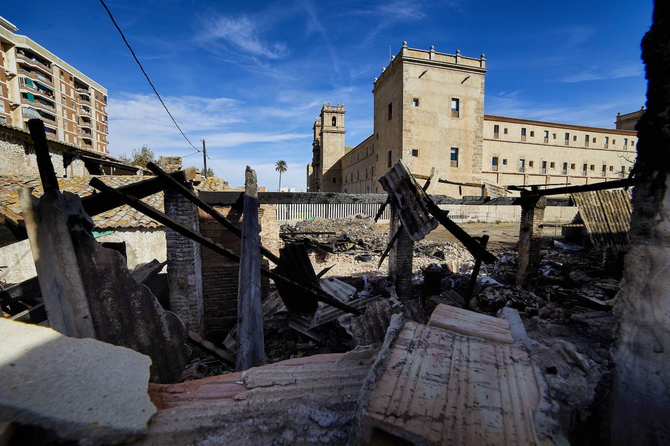 La ruina rodea San Miguel de los Reyes