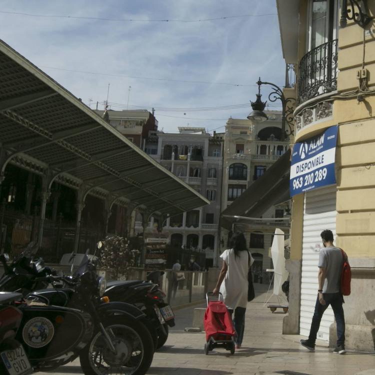 Los comerciantes rechazan marcar los barrios de Valencia por el nivel de coronavirus