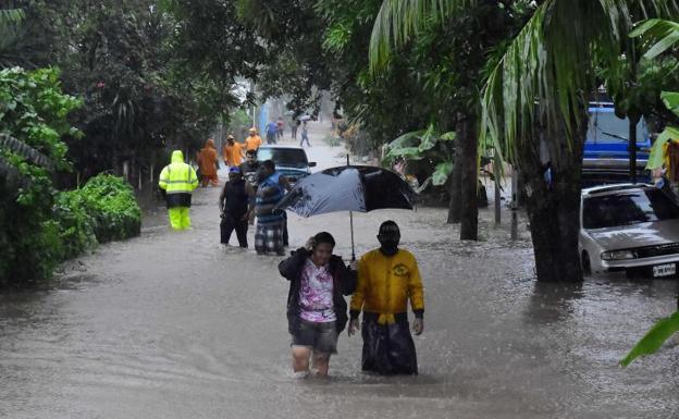 El huracán Eta causa estragos en Honduras tras dejar cuatro muertos en  Centroamérica | Las Provincias