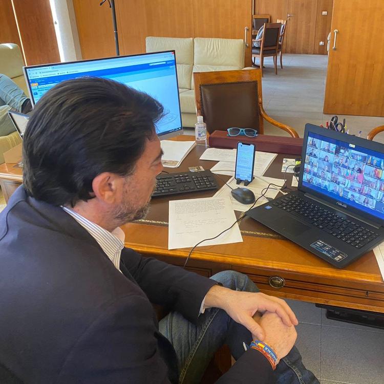 Unides Podem planteará al pleno de Alicante que ratifique su confianza en Barcala si el alcalde es reprobado
