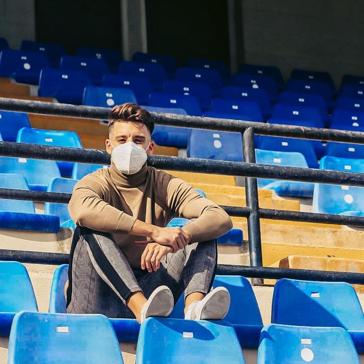 El centrocampista del Hércules Pedro Torres desvela que el Covid le dejó «desanimado»