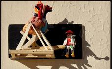 El centro de Valencia se llena de 'clicks' de Playmobil