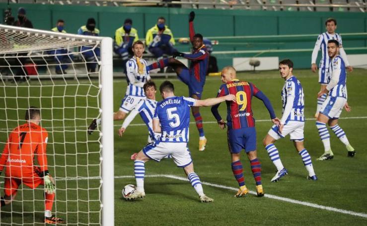 Las mejores imágenes del Real Sociedad-Barça