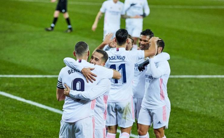 Las mejores imágenes del Alavés-Real Madrid