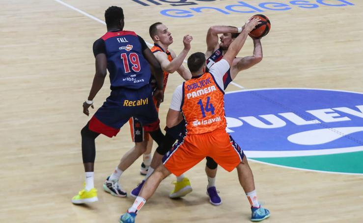 El Valencia Basket - Baskonia, en imágenes