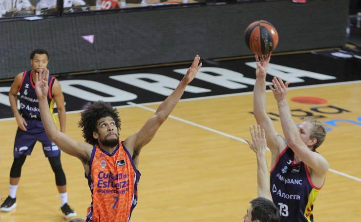 Las mejores imágenes del Morabanc Andorra-Valencia Basket