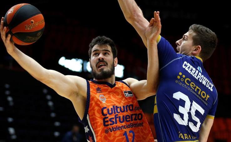 Las mejores imágenes del Valencia Basket-Obradoiro
