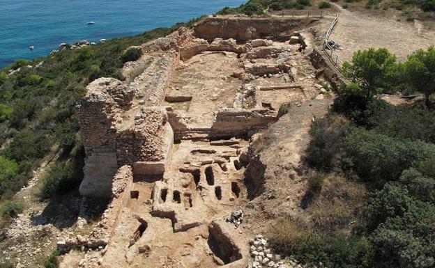 Enclave arqueológico de la Pobla d'Ifac.