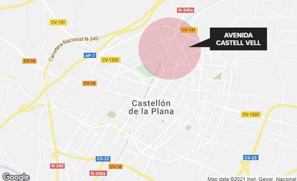 Castelló remodelará la avenida Castell Vell para dotarla de más seguridad con carril bici y aceras