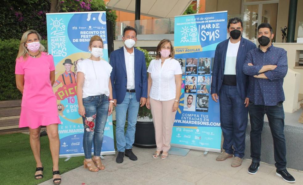 Estopa, Antonio Orozco y Ana Torroja dan la bienvenida a agosto en el festival Mar de Sons de Benicàssim