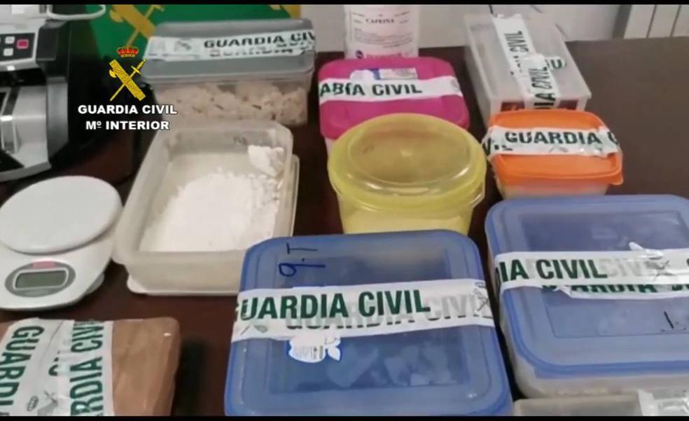 Cae una red de tráfico de drogas con varios puntos de venta en Castellón