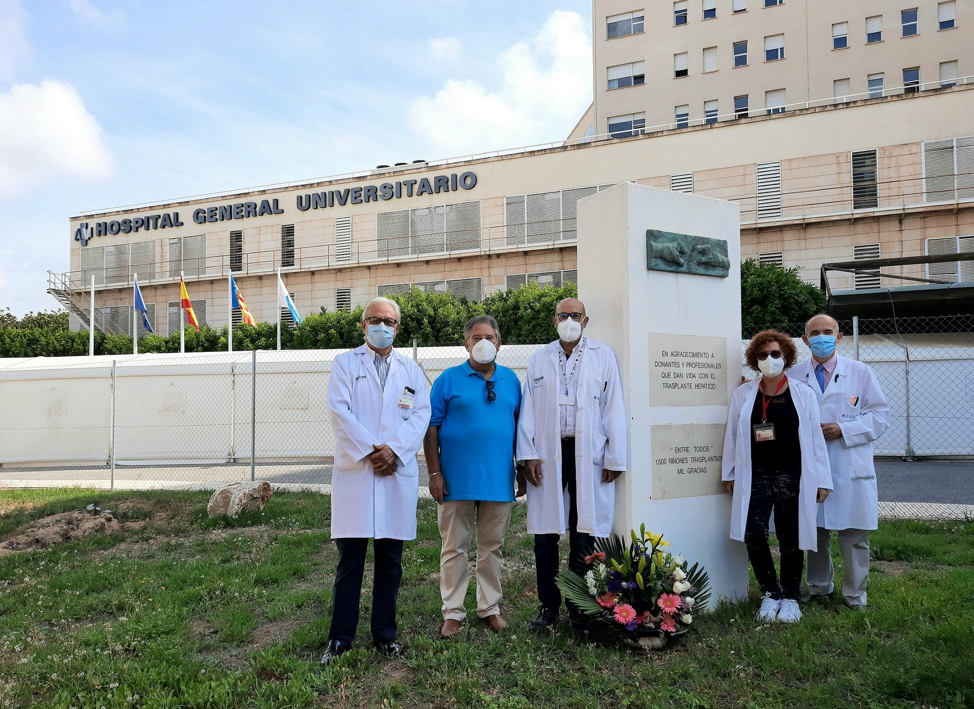 El Hospital General de Alicante realiza ocho trasplantes en 72 horas y supera su máximo histórico