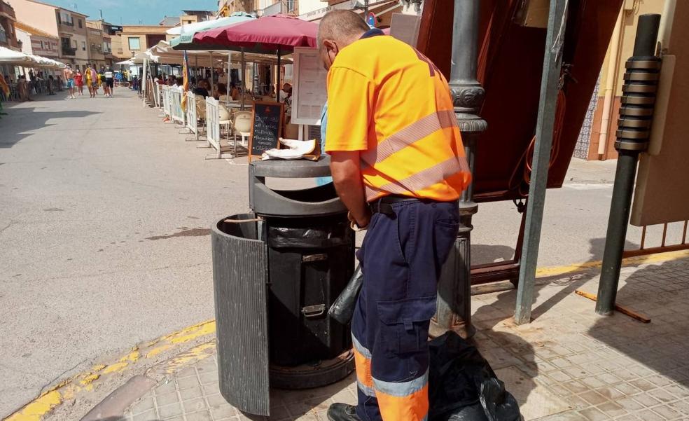 El Palmar también tendrá servicio de limpieza los domingos