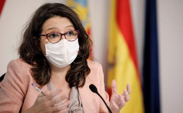 La vicepresidenta de la Generalitat, Mónica Oltra./EFE