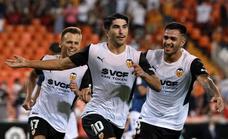 Vídeo del gol de 'escorpión' de Carlos Soler (2-0) en el Valencia-Alavés