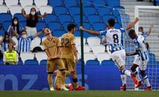Vídeo del gol de Barrenetxea (1-0) en el Real Sociedad - Levante UD