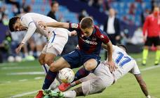Las mejores imágenes del Levante UD-Getafe CF