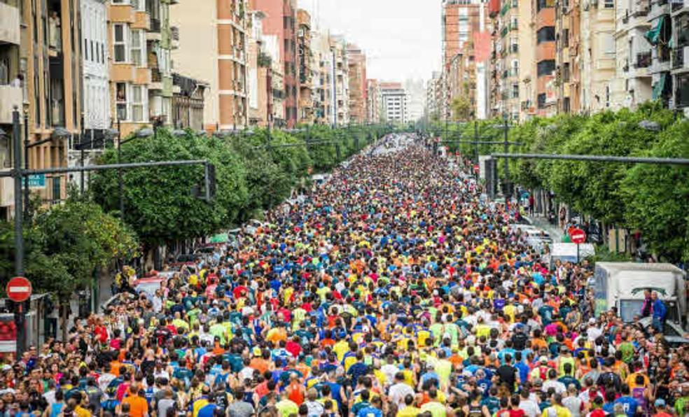 Por qué calles pasa el Medio Maratón de Valencia y a qué hora habrá cortes de tráfico en cada zona